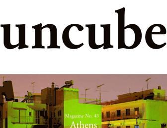 uncubemagazine.com screenshot