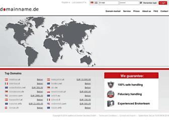 Thumbshot of Domainname.de