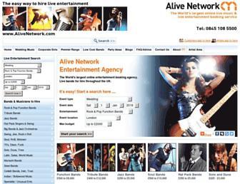 Thumbshot of Alivenetwork.com