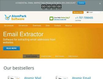 atompark.com screenshot
