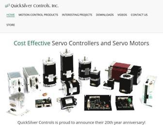 quicksilvercontrols.com screenshot