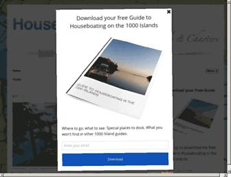 houseboatholidays.ca screenshot