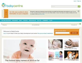 Thumbshot of Babycentre.co.uk