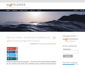 blog.mayflower.de screenshot