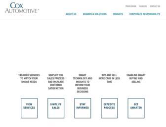 coxautoinc.com screenshot