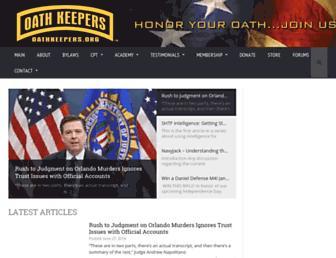 Thumbshot of Oathkeepers.org