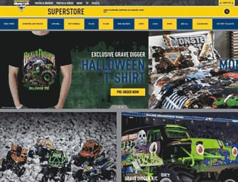 monsterjamsuperstore.com screenshot