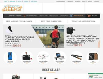 accessorygeeks.com screenshot