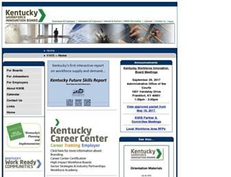 kwib.ky.gov screenshot