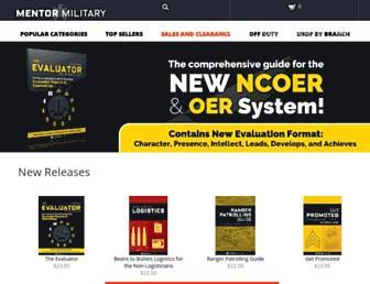 mentormilitary.com screenshot