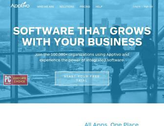apptivo.com screenshot