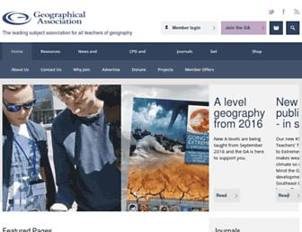 Thumbshot of Geography.org.uk