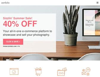 en.zenfolio.com screenshot
