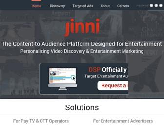 Thumbshot of Jinni.com