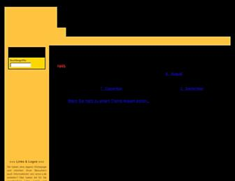 Main page screenshot of anno-x.de