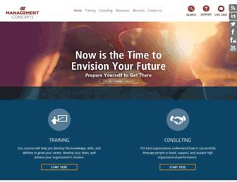 managementconcepts.com screenshot