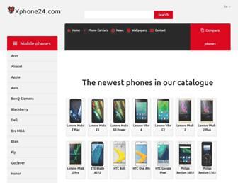 xphone24.com screenshot