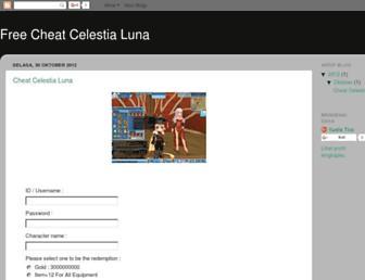 cheatercelestialuna.blogspot.com screenshot