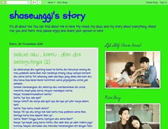 shaseunggi.blogspot.com screenshot