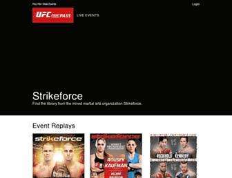 Thumbshot of Strikeforce.com