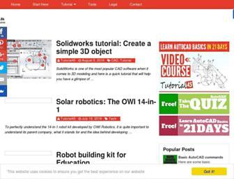 tutorial45.com screenshot