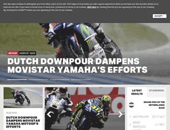 Thumbshot of Yamahamotogp.com