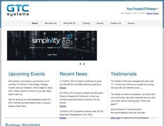 gtcsystems.com screenshot