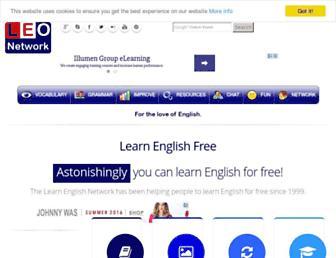Thumbshot of Learnenglish.de