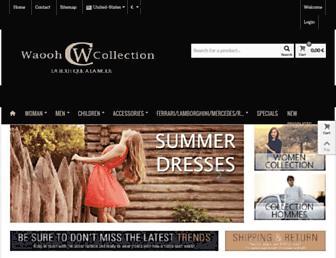Thumbshot of Waooh-collection.com
