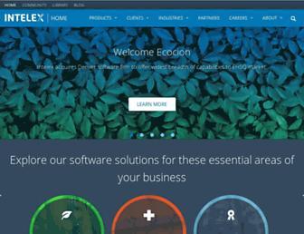 intelex.com screenshot