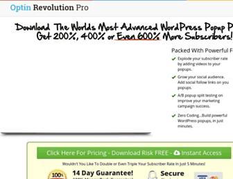 Thumbshot of Optinrevolution.com