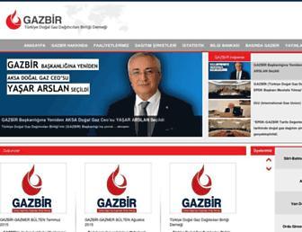 gazbir.org.tr screenshot