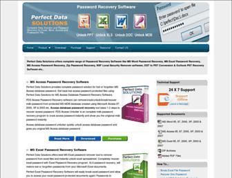 perfectpasswordrecovery.com screenshot