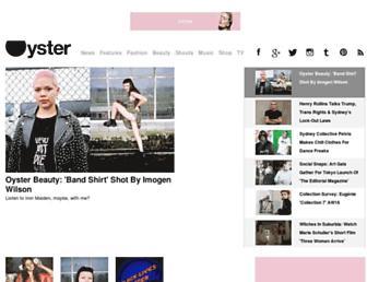 Thumbshot of Oystermag.com
