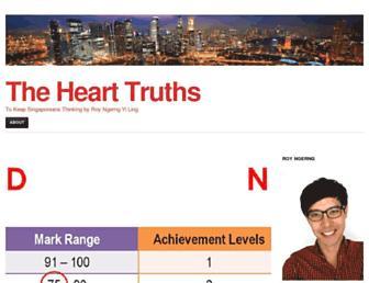 Thumbshot of Thehearttruths.com