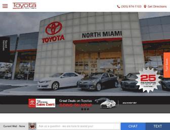 toyotaofnorthmiami.com screenshot