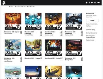 music.monstercat.com screenshot