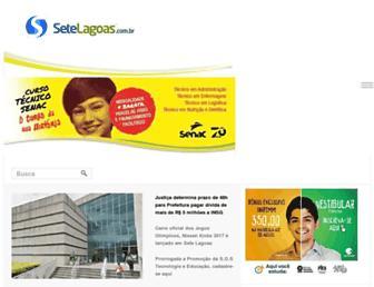 Thumbshot of Setelagoas.com.br