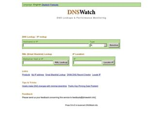 Thumbshot of Dnswatch.info