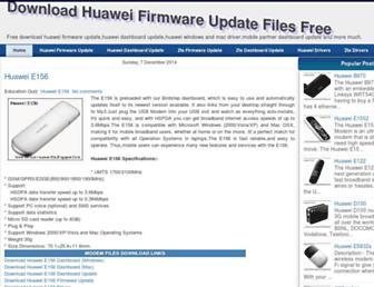 huaweifirmwareupdate.blogspot.com screenshot
