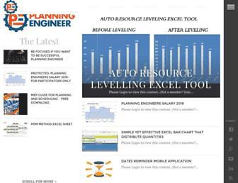 planningengineer.net screenshot