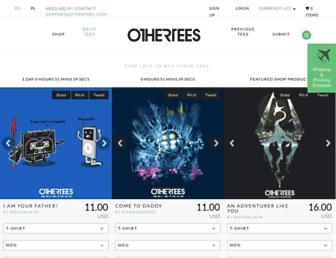 Thumbshot of Othertees.com