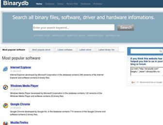 binarydb.com screenshot