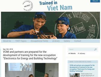 tvet-vietnam.org screenshot