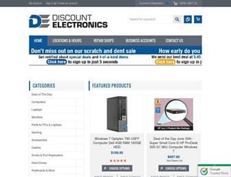 Thumbshot of Discountelectronics.com
