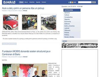 diario.aw screenshot