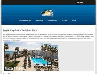 Thumbshot of Ibizaholidays.com