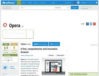 opera.en.softonic.com screenshot