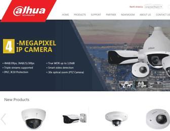 dahuasecurity.com screenshot