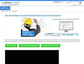 pipeflow.com screenshot